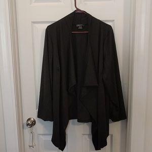 Comfy black cardigan sweater